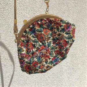 Vintage Floral Crossbody